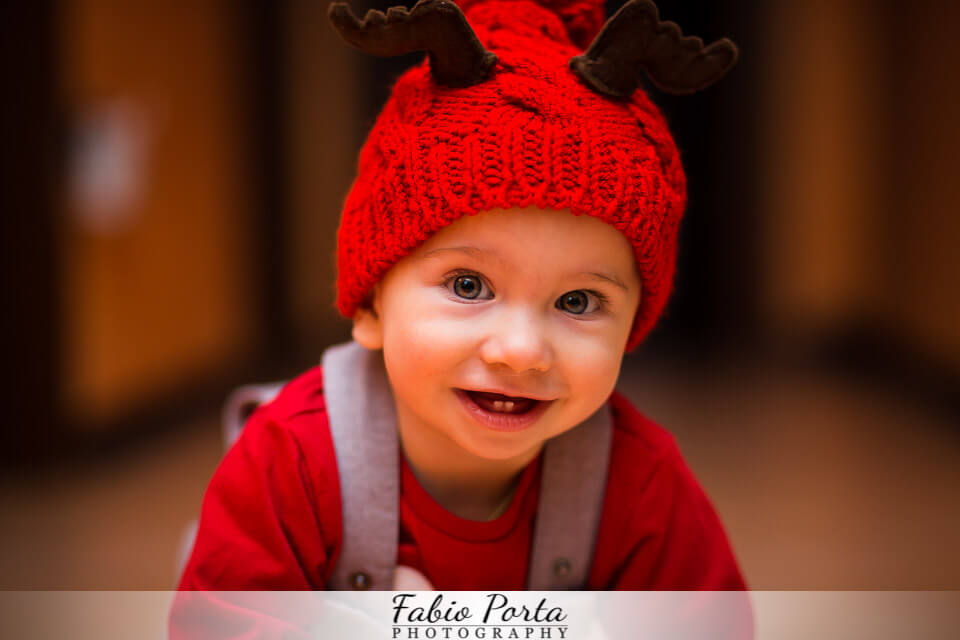 Samuele, 9 mesi a tutta simpatia | Fotografo bambini Modena